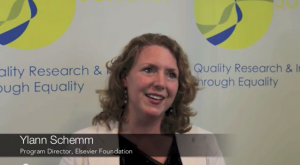 Gender Summit Ylann Schemm Interview