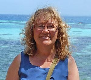 Geraldine Lovell on Changuu Island
